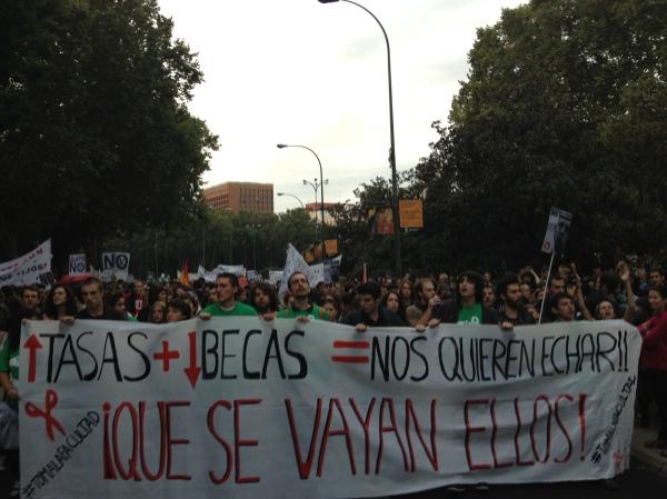 Madrid #14n hacia la huelga general #tomalafacultad #tomalahuelga