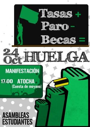 CartelHuelga24O